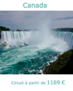 Chutes du Niagara, partir au Canada au mois de juin avec Nirvatravel