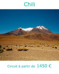 Les hauts plateaux de la Cordillère des Andes, partir en janvier au Chili avec Nirvatravel