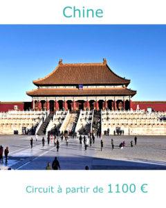 Place du Palais de la Cité Interdite, partir en Chine avec Nirvatravel