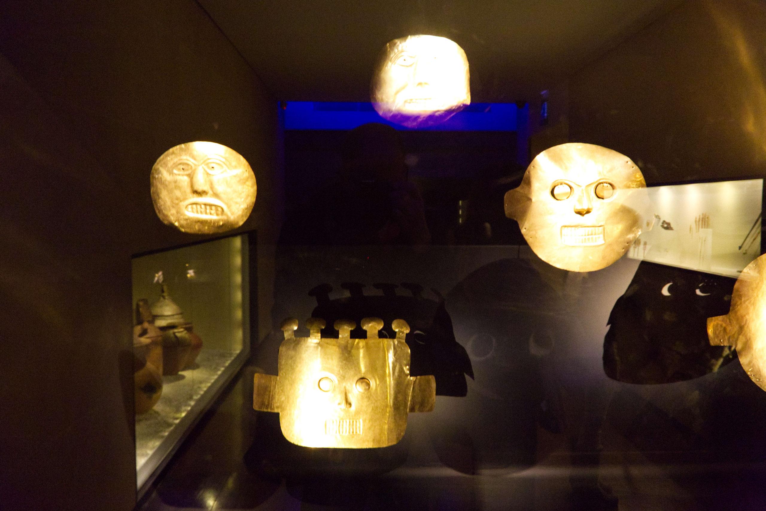 La Candelaria et le musée de l'Or