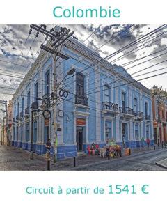 Immeuble typique de Santa Marta, partir en Colombie en septembre avec Nirvatravel