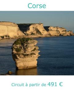 Falaises de Bonifacio, partir en Corse en juillet avec Nirvatravel