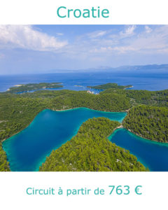 Panorama sur l'ile de Kornati, partir en Croatie au mois de juin avec Nirvatravel