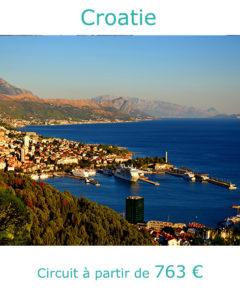 Panorama sur le port de Split, partir en Croatie en septembre avec Nirvatravel