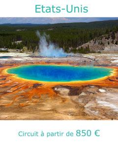 Parc de Yellowstone, partir aux Etats-Unis au mois de juin avec Nirvatravel