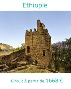 Château Fasil Ghebbi à Gondar, partir en Ethiopie en décembre avec Nirvatravel