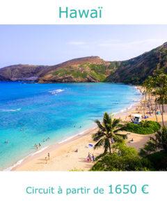 Plage sur l'ile d'Oahu, partir à Hawaï en octobre avec Nirvatravel
