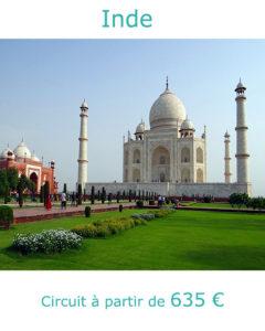 Le Taj Mahal à Agra, partir en Inde en mars avec Nirvatravel