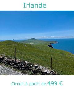 Prairies de la Péninsule de Dingle, partir en Irlande au mois de juin avec Nirvatravel