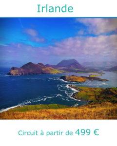 Panorama sur les Iles d'Aran, partir en Irlande au mois d'aout avec Nirvatravel