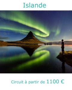 Aurore boréale, partir en Islande au mois d'aout avec Nirvatravel