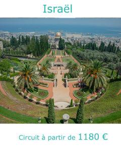 Vue de Haifa depuis le Mont Carmel, partir en Israël au mois de mai avec Nirvatravel