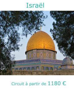 Dome doré de Jérusalem, partir en Israël en avril avec Nirvatravel