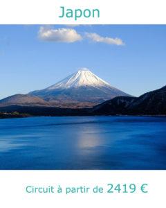 Sommet enneigé du Mont Fuji, partir au Japon au mois de mai avec Nirvatravel