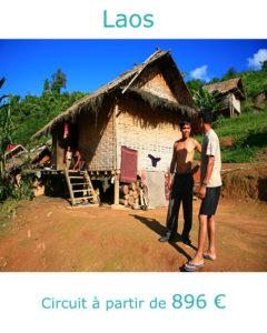 Ethnies dans la région de Luang Namtha, partir au Laos en mars avec Nirvatravel