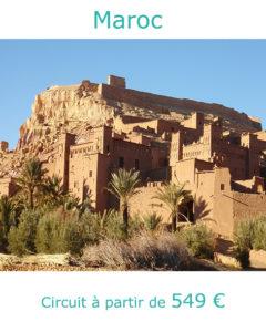 Kasbah de Aït Ben Haddou, partir au Maroc en avril avec Nirvatravel
