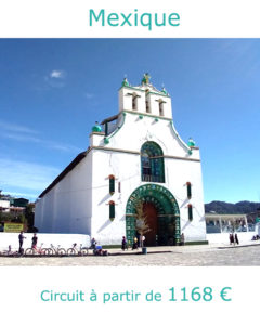 Eglise de San Juan de Chamula dans le Chiapas, partir au Mexique en avril avec Nirvatravel