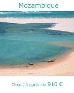 Lagune de l'archipel de Bazaruto, partir au Mozambique au mois de juin avec Nirvatravel