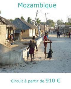 Rue de Ilha Mozambique, partir au Mozambique au mois d'aout avec Nirvatravel