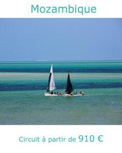 Dohw dans l'archipel de Bazaruto, partir au Mozambique en mars avec Nirvatravel