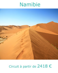 Dunes de Sossusvlei, partir en Namibie au mois d'aout avec Nirvatravel