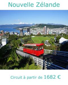 Funiculaire de Wellington, partir en Nouvelle Zélande en décembre avec Nirvatravel