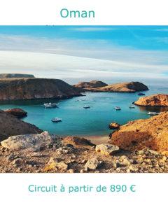Fjords de la péninsule de Musandam, partir à Oman en avril avec Nirvatravel