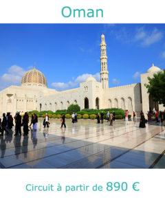 Grande Mosquée de Mascate, partir à Oman en septembre avec Nirvatravel
