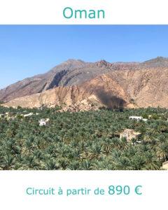 Palmeraie de Misfah, partir au Sultanat d'Oman au mois de mars acec Nirvatravel