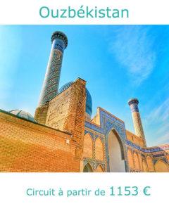 Médersa de Samarcande, partir en Ouzbékistan en septembre avec Nirvatravel