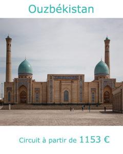 Médersa Barak khan à Tachkent, partir en Mongolie au mois de juin avec Nirvatravel