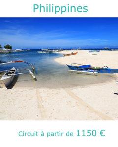 Ile de Pamalican au large de l'ile de Bohol, partir aux Philippines en décembre avec Nirvatravel