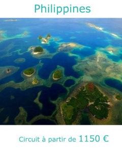 Vue aérienne des Visayas, partir aux Philippines au mois de mai avec Nirvatravel