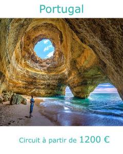 Grotte de Benagil en Algarve, partir au Portugal en octobre avec Nirvatravel