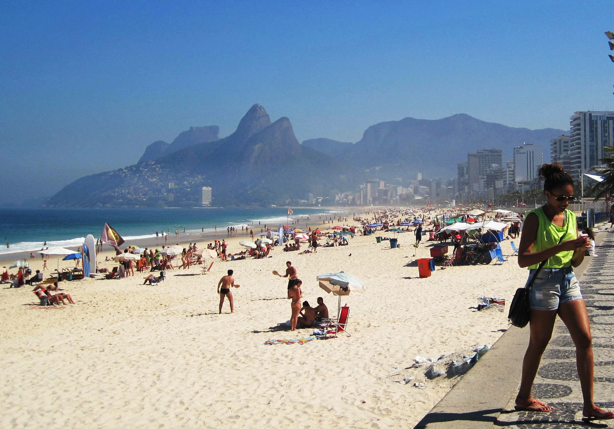 Les plages de Rio, Ipanema, Copacabana