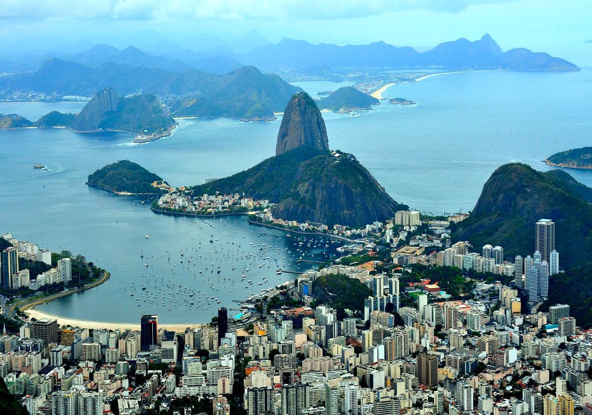 Panorama de Rio depuis le Corcovado