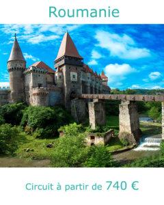 Château en Transylvanie, partir en Roumanie en juillet avec Nirvatravel