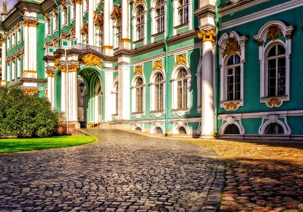 Musée de l'Ermitage à Saint-Petersbourg