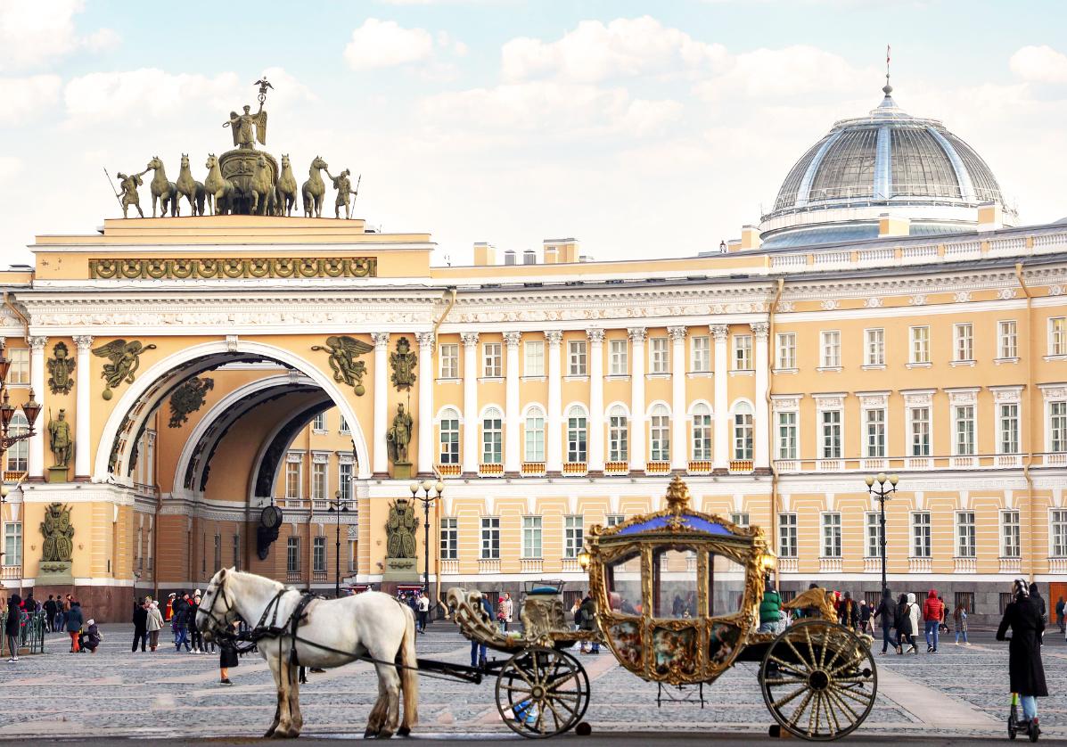 Visite personnelle de Saint-Petersbourg