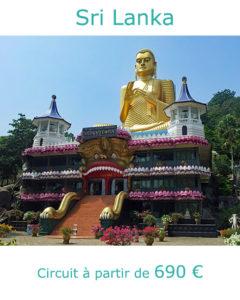 Temple d'Or de Dambulla, partir au Sri Lanka en juillet avec Nirvatravel