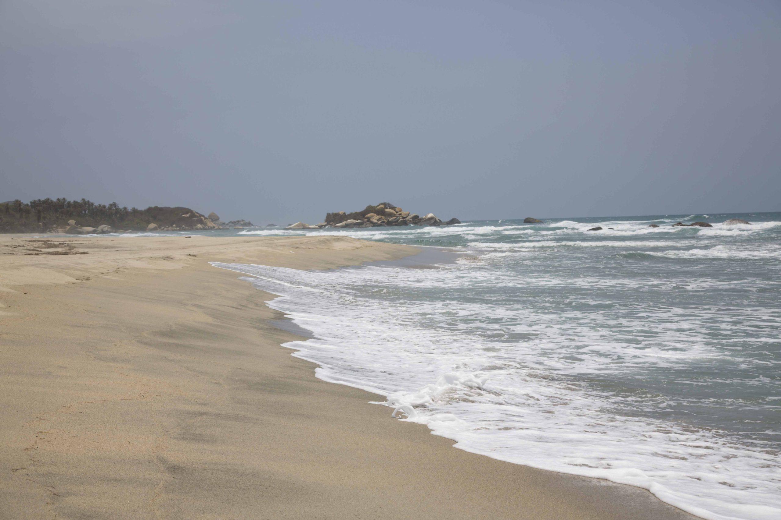 Les plages sauvages du Parc de Tayrona