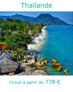 Plage sur l'ile de Kho Samui, partir en Thaïlande en janvier avec Nirvatravel