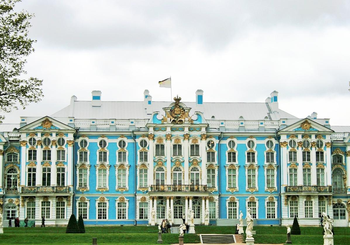 Palais Tsarskoïe Selo, résidence de Catherine II