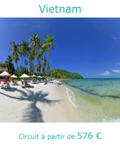 Plage sur l'ile de Phu Quoc, partir au Vietnam en novembre avec Nirvatravel
