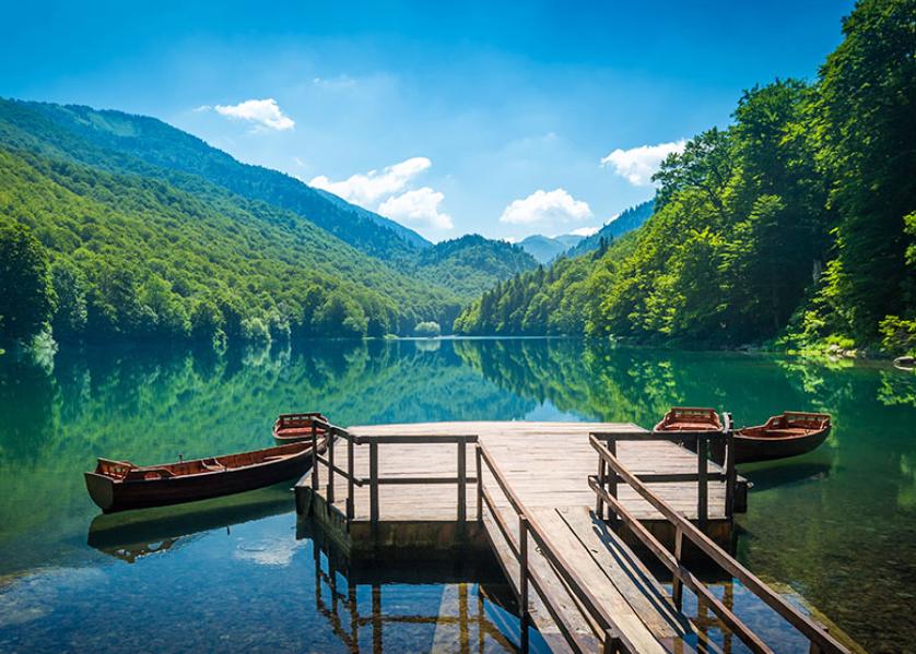 Randonnée autour du lac de Biograska Gora